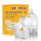 Yoomi 自动加热奶瓶,双加热器,140 毫升