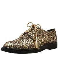 Kenneth Cole New York 女士 Annie Menswear Style 牛津闪光鞋