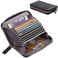 卡片夹女士大号信用卡钱包拉链男士超大容量