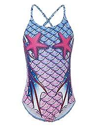 idgreatim 女式抹胸式分体泳衣挂脖系带聚拢泳装比基尼套装