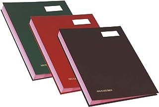 Exacompta 签名文件夹(24x32 厘米,可伸缩折叠背)