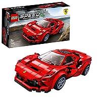 LEGO 76895 Speed Champions 法拉利 F8 Tributo Racer 玩具带赛车司机迷你人偶,赛车搭建套装