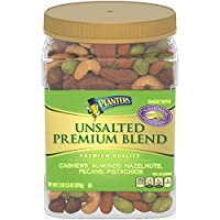PLANTERS 紳士 精選大罐無鹽混合堅果 978g 含腰果、扁桃仁、碧根果、鮑魚果(巴西果)、開心果)
