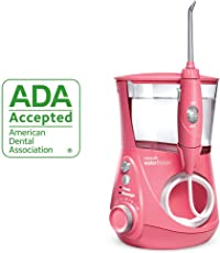 waterpik 洁碧 ADA认证 WP-674 Aquarius 冲牙器 Pink (需配合变压器适用)