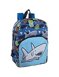 儿童动物朋友 Critter 背包适合男孩和女孩,带加固肩带