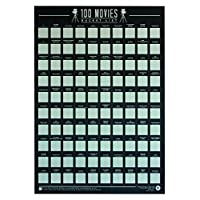 Gift Republic 100 电影 - Scratch Off Bucket List 海报