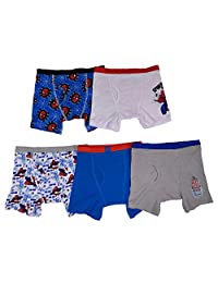 Marvel Little Boys' Spiderman Boxer Brief (Pack of 5)