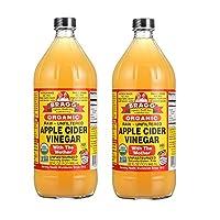 Bragg *苹果泥醋,32 盎司 32 Fl Oz (Pack of 2)