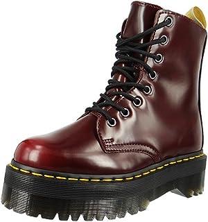 Dr Martens 中性款 Jadon Vegan 樱桃红色四色剑桥刷靴