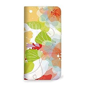 mitas iphone 手机壳31NB-0068-OR/401SH 37_シンプルスマホ2 (401SH) 橙色(无腰带)