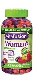 Vitafusion女性维生素软糖 浆果味 150粒