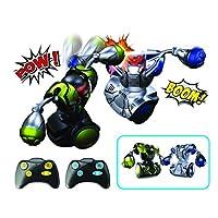 Silverlit 银辉 动感创智 拳击搏击格斗双人对战机器人儿童智能遥控男孩玩具 拳击机器人 二人对战套装 SLVC880520CD00101