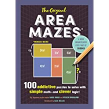 The Original Area Mazes: 100 Addictive Puzzles to Solve with Simple Math—and Clever Logic! (English Edition)