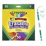 Crayola 50 支可擦除彩色铅笔
