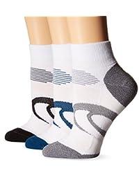 ASICS Intensity Quarter 袜子(3 双装)