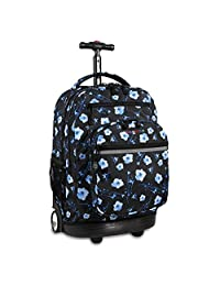 J World New York Sundance Laptop Rolling Fashion Backpack