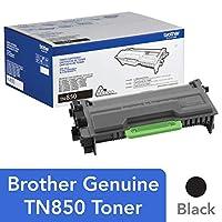 Brother Genuine 高產量碳粉盒,TN850,替換黑色碳粉,打印頁數可達 8,000 頁,亞馬遜儀表板補充盒