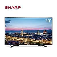 【下单减300元】Sharp 夏普 LCD-70SU578A 70英寸4K超高清智能液晶平板电视- 歌手版(亚马逊自营商品, 由供应商配送)