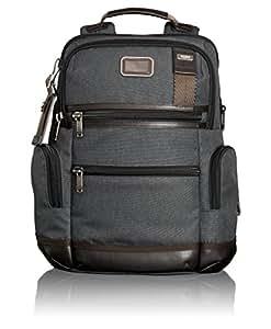 TUMI Alpha Bravo Knox系列 中性 双肩背包 222681AT2 烟灰色 16英寸 35.5*15*40.5cm