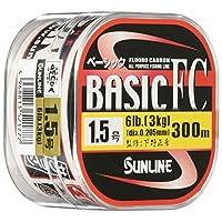 SUNLINE (SUNLINE) 碳纤维线 基础款FC 300m 1.5号 6lb