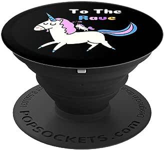 To The Rave PopSockets 手机和平板电脑握架260027  黑色