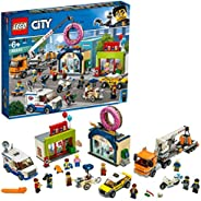 LEGO 乐高 City 城市系列 巨大起重机车 Doughnut 店开店 60233 积木玩具 男孩
