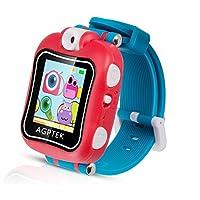 儿童智能手表 agptek 儿童智能手表多功能 (闹钟摄像录音游戏秒表)