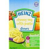 Heinz亨氏  芝士蔬菜& Pasta   适合7个月以上  100克(6包)