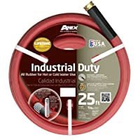 Apex Commercial All Rubber Hot Water Hose 5/8-Inch by 25-Feet
