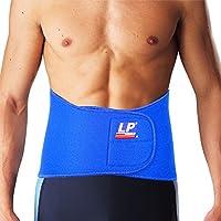 LP 美国欧比护具 护腰 772 高背支撑型腰部护带 腰部拉伤扭伤 黑色/蓝色 M
