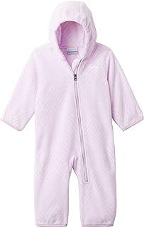 Columbia 女童 Snowtop Ii 婴儿睡袋,柔软抓绒睡衣