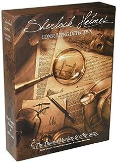 Fantasy Flight Games 大侦探夏洛克福尔摩斯:泰晤士河谋杀案及其他案件 桌游