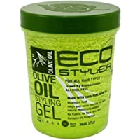 ECOCO 环保型凝胶,橄榄色 32 盎司 3片装
