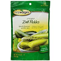 Mrs. Wages Quick Process Dill Pickle Mix, 6.5 Oz (Pack of 6)