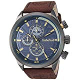 Timberland TBL15901JYU03TBL15901JYU03 Analog Artificial Leather 棕色 TBL15901JYU03 casual-watches