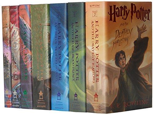 (英文原版) 哈利波特 Harry Potter Boxset Books 1-7 英文版 典藏宝盒精装