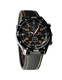 酷炫男式 RACER 军事 PILOT 飞行员*硅胶运动手表