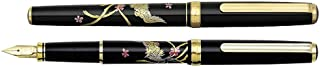 日本白金 Platinum 美巧 高級加賀描金畫筆桿 PTL-12000M 鋼筆 #17F鳳凰 (細)
