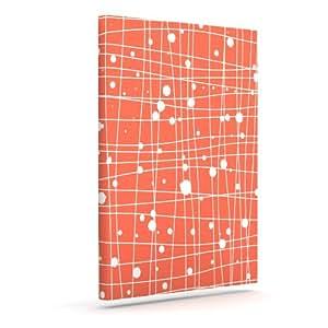 Kess InHouse Budi Kwan 编织网户外帆布墙画,50.8 x 60.96 cm