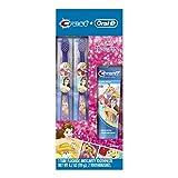 Oral-B 欧乐B Crest 儿童套装 迪士尼公主 氟化物防龋牙膏及牙刷(2把)