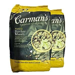 carman's水果坚果什锦麦片 1500g 2袋价