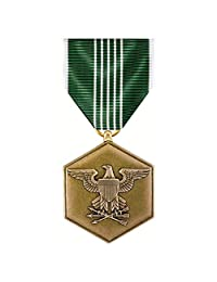 Army Commendation *牌 全尺寸 Reg Finish ARCOM