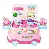Hello Kitty 凯蒂猫 儿童过家家玩具厨房玩具做饭玩具宝宝厨具套装KT-8590