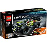 18年新品 LEGO 乐高 拼插类玩具 Technic 科技 机械组 (高速赛车-旋风冲击42072)