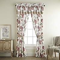 Croscill Fleur Poletop 窗帘,白色