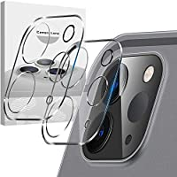 [ 3 件装 ] Ambison 相机镜头保护膜 适用于 iPad Pro 2020 [ 11 英寸 12.9 英寸 ] [ 新版 ] 钢化玻璃屏幕保护膜 [ 保护壳 ] 安装简单 - 透明
