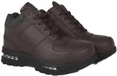 LABO 男式黑色徒步皮靴空气鞋跟 #5712 Brown5712 7