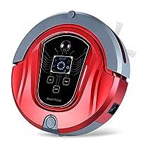 Gentleman 全自动智能扫地机器人 干湿两用扫地机器人 除螨 家用吸尘器 拖地机 智能清洁机 扫地机 全自动回充电智能扫地机器人 M8 (中国红)