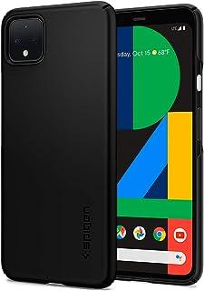 Spigen 薄款手机保护壳 专为Google Pixel 4 XL设计(2019)-黑色