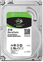 SEAGATE 內置硬盤3.5英寸 4TB 適用于PC用戶 BarraCuda ( SATA 6Gb/s / 5400rpm ) ST4000DM004